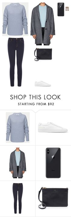 """""""13/01 - Parents house"""" by agneskohler ❤ liked on Polyvore featuring Common Projects, ATM by Anthony Thomas Melillo and CÉLINE"""