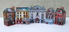 Hand painted gift kits for you to build your favourite Irish town. Grafton Street, West Cork, Dublin City, Your Favorite, Irish, Hand Painted, Building, Model Kits, Prints