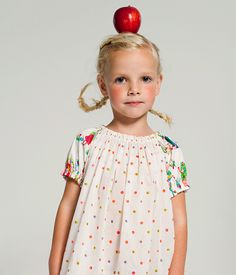 10 braids and buns for little girls. photo and idea from the fantastic oilily catalog