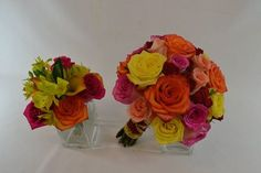 Going for Bold and Vibrant with roses www.plushflowers.ca