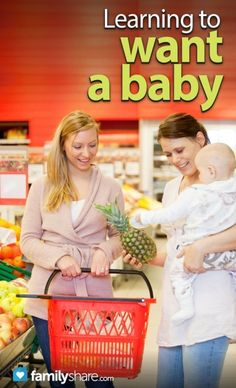 FamilyShare.com l #Learning to want a #baby. #pregnancy #moms #babies