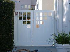 Craftsman Gates, wonder if the HOA will approve this #PinMyDreamBackyard