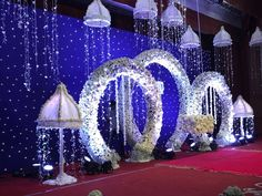 To give you some reception stage decoration ideas, I have curated a list of best wedding stage decor photos that you can show to your decorator and have the wedding decor of your dream! Desi Wedding Decor, Wedding Hall Decorations, Marriage Decoration, Engagement Decorations, Backdrop Decorations, Flower Decorations, Wedding Blog, Wedding Events, Backdrops