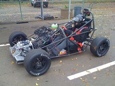 DP1 car… hmmm wish I had a welder and a wrecked crotch rocket.