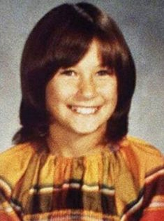 Demi Moore during her childhood