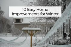 10 Easy Home Improvements for Winter