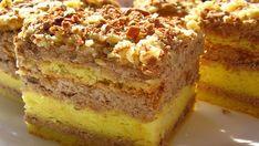 Fantastická orechová torta s výbornou náplňou a lahodnou chuťou pripravená už za 40 minút! Sicilian Recipes, Greek Recipes, Romanian Food, India Food, Recipe Collection, Banana Bread, French Toast, Cooking, Breakfast