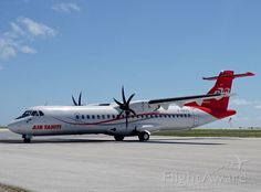 First in database. ATR 72-600 at FAKARAVA airport. Full frame photo at : https://flightaware.com/photos/view/2307327-ff75931fff537e4b984a83823a6b1a3f31a574cf/user/jeanlouisDelezenne/sort/date/page/2