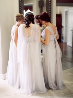 Traditional and Timeless Croatian Wedding, BHLDN Bridesmaid Dresses, Photo by When He Found Her