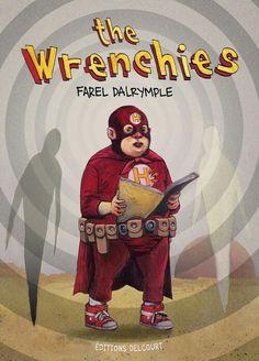 The Wrenchies par Farel Dalrymple : un trip comics post-apoh, rétro et métaphysique ttp://ow.ly/4mT2UV