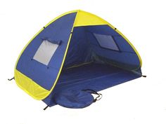 "This self erecting beach tent is an excellent outdoor ""must have"" item for all outdoor activities, especially for the family with babies and/or young children. It can prevent youngsters…"