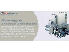Energy Products Suppliers | Power Products Manufacturers & Sellers New Delhi - WikiDok