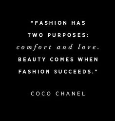 Wise Words: Coco Chanel