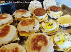 Is anyone else a fan of breakfast? How about Sausage Egg McMuffins from McDonald's ? I hardly ever eat at McDonald's but I LOVE their Sau. Brunch Recipes, Breakfast Recipes, Breakfast Ideas, Brunch Foods, Breakfast Sandwiches, Breakfast Dishes, Yummy Recipes, Sausage And Egg Mcmuffin, Camping Breakfast
