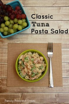 Looking for a tried and true summer recipe? This Classic Tuna Pasta Salad is our family favourite.