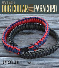 How to Make A Paracord Dog Collar | Instructions | How To
