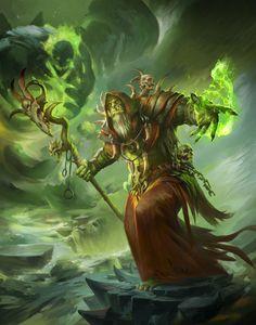 oh by april dede on ArtStation. Fantasy World, Fantasy Artwork, Fantasy Art, World Of Warcraft Game, Fantasy Warrior, Azeroth, Warcraft Art, Fantasy Creatures, Fantasy Rpg