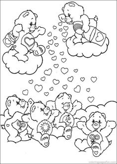 Care Bears Coloring Pages 39
