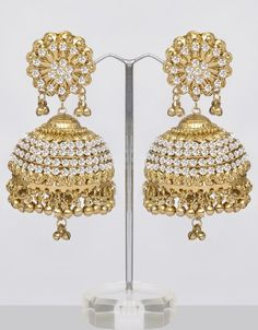 Very Large Jhumka Designs