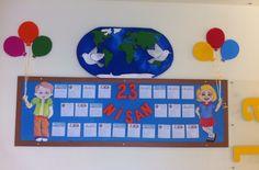 23 nisan panosu #23nisan #çocukbayramı #pano #okul #school #childrensday