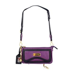 "NFL Baltimore Ravens Suite Team Cross Body Bag by LittlEarth. $59.99. Littlearth takes team fashion to a new level of style and sophistication with the Suite Team Collection, developed with acclaimed designer Nikki Chu. Each of these limited edition bags feature head-turning style combined with beautiful craftmanship and lavished with details. Suite Team Cross Body measures 10.5"" width, 3"" depth, and 6.5"" high. Adorned with cast league specific charm and leather tassel. Gold or..."