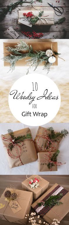 Gift wrapping, wrapping paper ideas, DIY holiday, holiday decor, popular pin, DIY wrapping paper, rustic wrapping paper, Christmas, DIY Christmas, gift ideas.