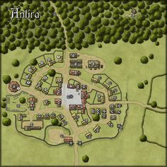 RPG forest city map - Google Search