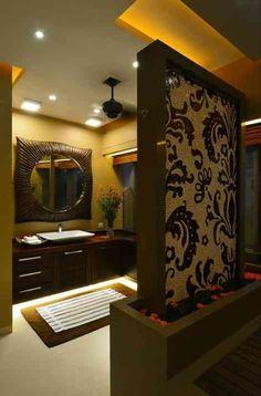 Bathroom Designs Hyderabad luxury washbasin with mirror, designsandesh prabhu, india