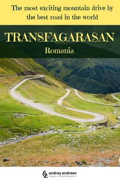 The most exciting mountain drive by the best road in the world - Transfagarasan road in Romania. Enjoy the curves and stunning views uo in the mountains. Waterfalls, Balea lake, Vidraru Dam, Poenari castle - the real home of Dracula, and many others