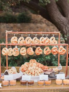 Wedding Food Pretzel bar idea for wedding reception food station - Treat guests to one of these awesome DIY food stations. Unique Wedding Food, Wedding Food Bars, Wedding Snacks, Wedding Food Stations, Wedding Catering, Unique Weddings, Real Weddings, Romantic Weddings, Trendy Wedding