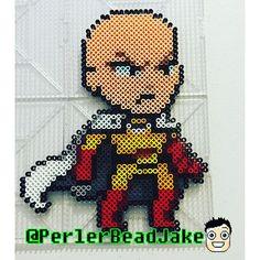 One-Punch Man perler beads by perlerbeadjake