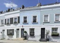 colourful London terraces - Google Search Terraces, Exterior Colors, Multi Story Building, Houses, Colours, London, Google Search, Homes, Decks