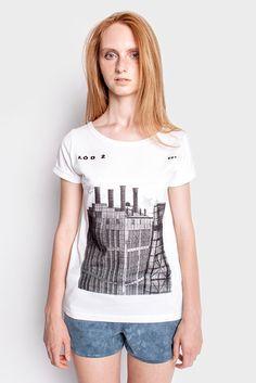 Łódź EC1 damska koszulka