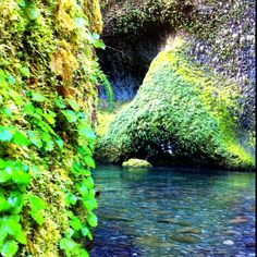 Hiking Eagle Creek in the Columbia River Gorge, Oregon