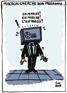 Macron en marche