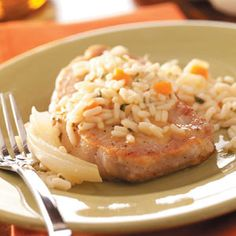 Old-Fashioned Pork Chops  I have made these twice and they are soo good and easy!