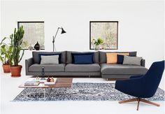 Woonstijl Modern & Design | Hoekbank Axel |  Eijerkamp | #wooninspiratie #woontrends #interieur
