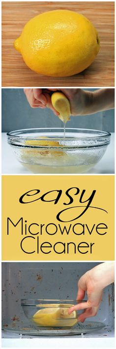 This Easy Microwave Cleaner Will Save You Money