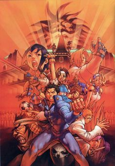 View an image titled 'Character Poster Art' in our Rival Schools art gallery featuring official character designs, concept art, and promo pictures. Character Art, Character Design, Art Anime, Video Game Art, Video Games, Video Game Characters, Box Art, Comic Art, Artwork