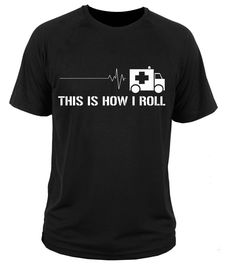 2017 Newest Emt Emergency Medical Technician Paramedic Ambulance 3D Printed Men's Short Sleeve Tee O-Neck T Shirts