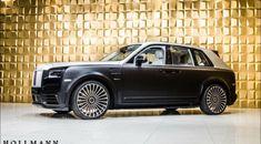 Rolls-Royce Cullinan by Mansory - Hollmann - Luxury Pulse Cars - Germany - For sale on LuxuryPulse. Used Luxury Cars, Luxury Cars For Sale, Suv For Sale, Luxury Suv, My Dream Car, Dream Cars, Bentley Arnage, Rolls Royce Cullinan, Silver Car