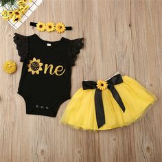 Material: COTTONFabric Type: Combed CottonSleeve Style: REGULARCollar: O-NeckGender: Baby GirlsMaterial Composition: cottonFit: Fits true to size, take your normal sizeSleeve Length(cm): ShortPattern Type: GeometricClosure Type: Single Button Cute Baby Girl Outfits, Cute Baby Clothes, Kids Outfits, Dresses For Baby Girls, Tutu Outfits, Newborn Outfits, Toddler Outfits, Baby Girl Fashion, Kids Fashion