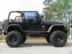 Jeep Wrangler Off Road Competition Jeep Wrangler Off Road, Cj Jeep, Jeep Cars, Jeep Truck, Us Cars, 2003 Jeep Wrangler, Super Swamper Tires, Badass Jeep, Black Jeep
