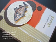 Father's Day Fish Card: Stamp Your Art Out!