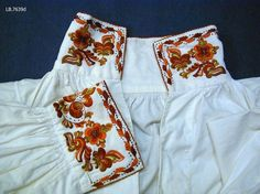 Folk Costume, Costumes, Basic Embroidery Stitches, Sewing Art, Boho Shorts, White Shorts, Norway, Museum, Dresses