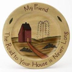 Wooden primitive hand painted.