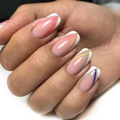 Want some ideas for wedding nail polish designs? This article is a collection of our favorite nail polish designs for your special day. Easy Nails, Simple Nails, Cute Nails, Pretty Nails, Solid Color Nails, Nail Colors, Sinful Colors, French Nails, Nail Polish Designs
