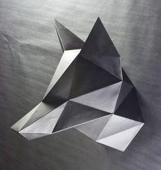 origami geometric dog