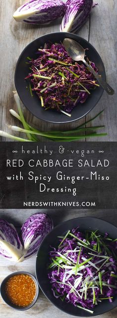 Red Cabbage Salad Wi
