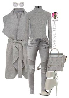 30 Chic Fall Outfit Ideas - Street Style Look. Mode Outfits, Chic Outfits, Fashion Outfits, Womens Fashion, Gray Outfits, Gray Dress Outfit, Camo Fashion, Fashion Hats, 70s Fashion